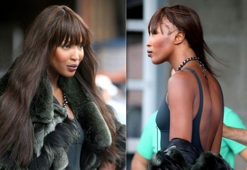 Naomi Campbell Wears Fur, Goes Bald; Tyra Banks Developing New Online Project