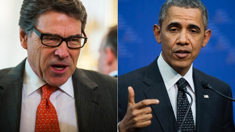 Obama Claims Minimum Wage Is a Women's Issue; Rick Perry Is Hating