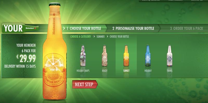 Drink From Your Own Customized Heineken Bottle