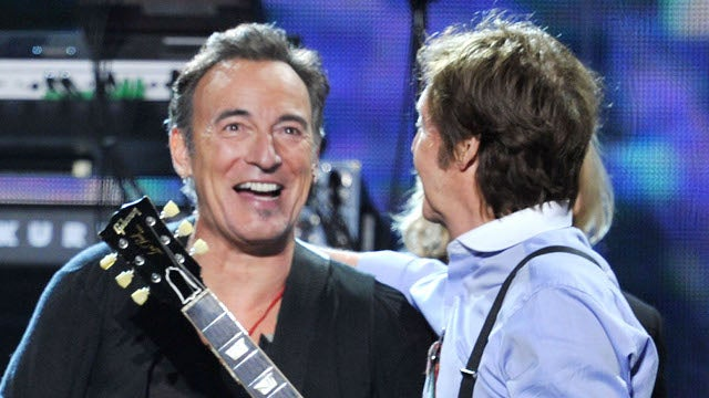 Paul McCartney and Bruce Springsteen Denied Late-Night Rocking Privileges