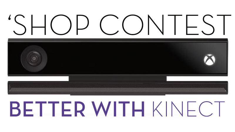 Kotaku 'Shop Contest: Somewhere A Place For Kinect