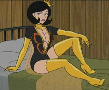 The Dr. Girlfriend nip slip the Venture Bros. wanted you to see