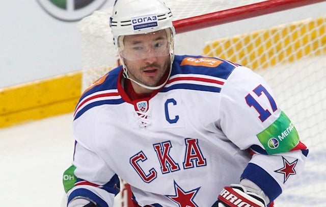 "Ilya Kovalchuk On Russia's Anti-Gay Laws: ""I Agree, Of Course"""