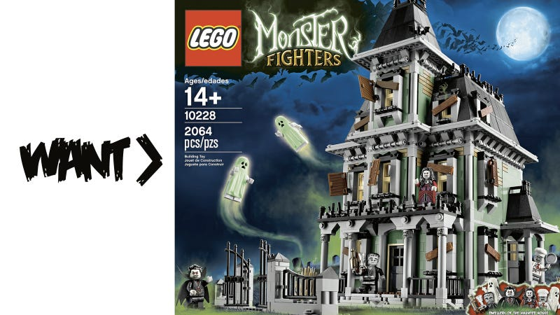 Lego's Munsters' House Is Not Really the Munsters' But Close Enough