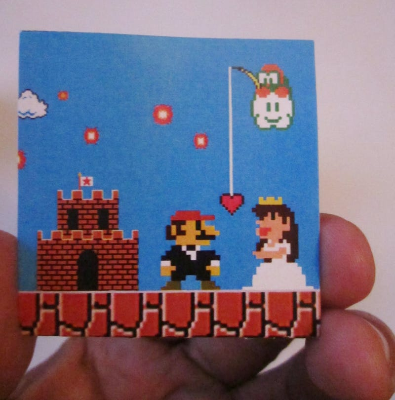 This Super Mario Wedding Art Deserves a Star