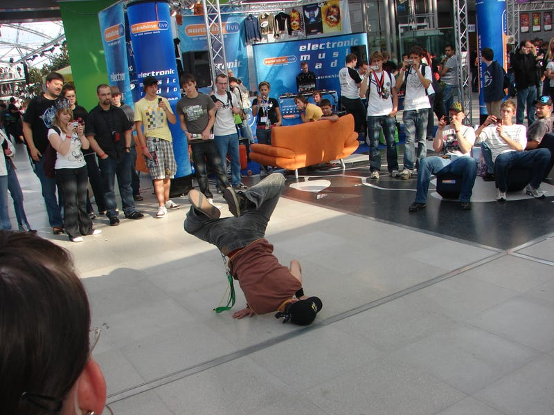 And Then They Started Breakdancing...