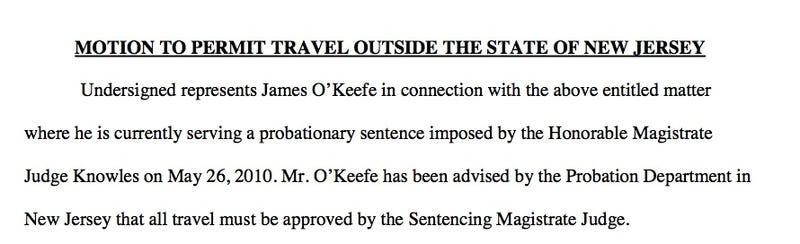 Is James O'Keefe a Fugitive?