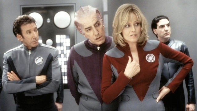 Somewhere there exists an R-rated version of Galaxy Quest