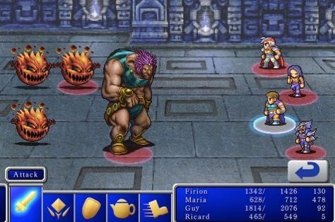 Final Fantasy I & II Now Available for the iPhone/iPod Touch