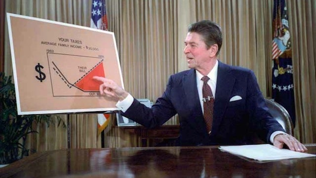 What happened when a 7th grader asked Ronald Reagan to declare his bedroom a federal disaster area