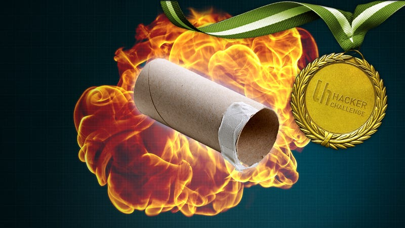 MacGyver Challenge: Hack Something With a Toilet Paper Tube