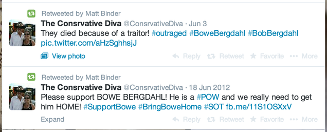 Angry Conservatives Forgot Their Old Angry Tweets Supporting P.O.W.