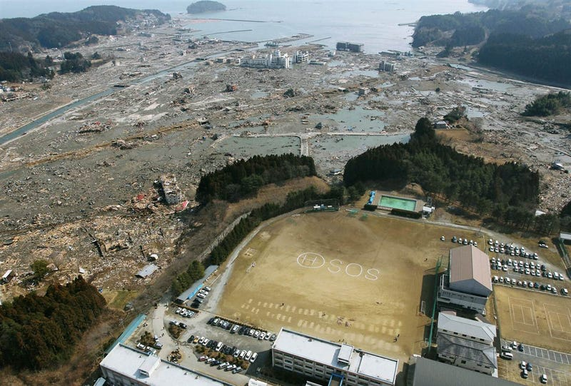 Japan Earthquake: Photos of a society demolished