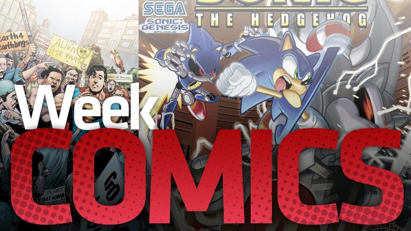 These Are the Most Interesting New Comic Books This Week, Sonic Included