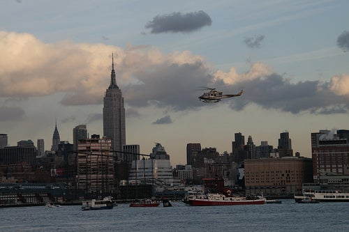 Eyewitness Photos of Hudson River Plane Crash