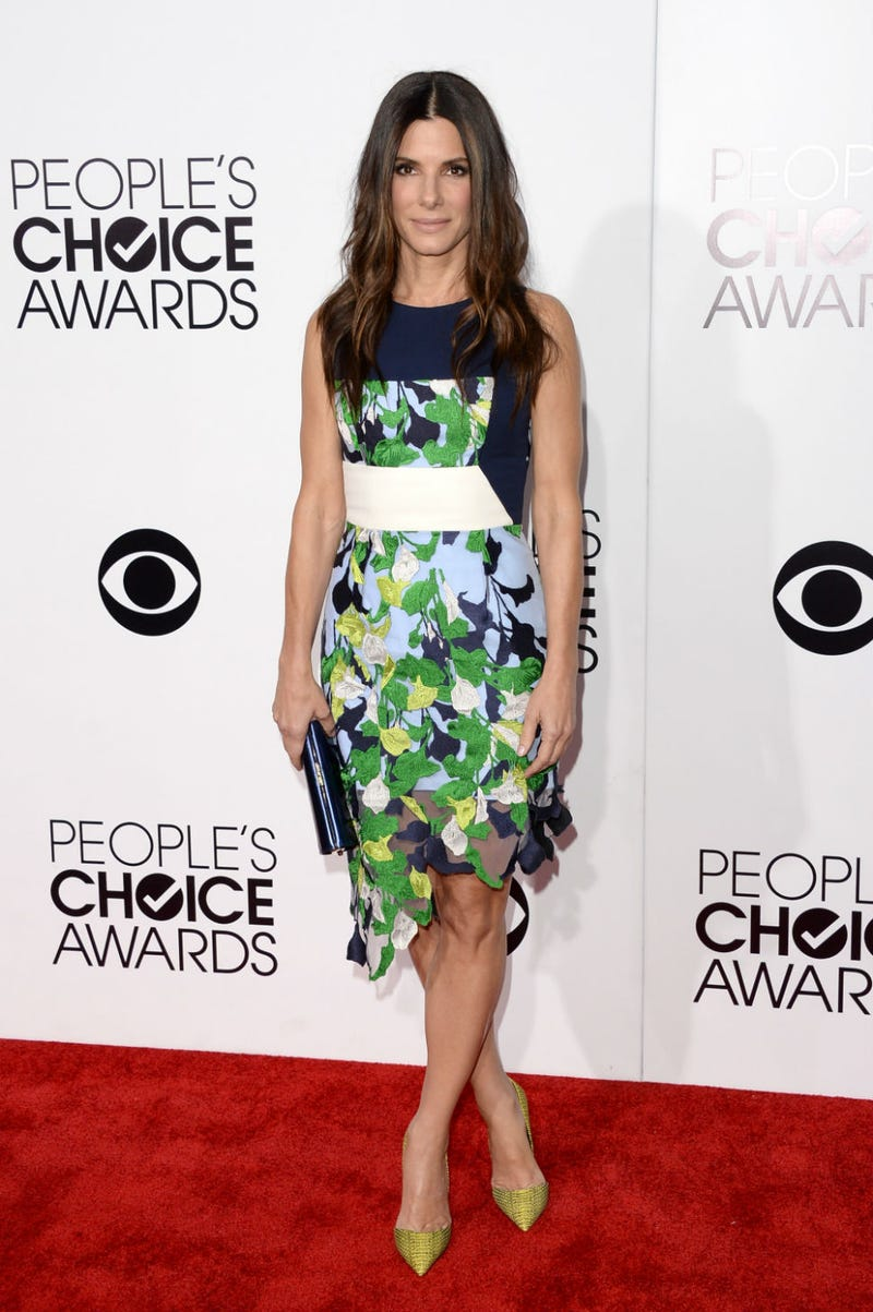 Sandra Bullock Wins Everything At The People's Choice Awards