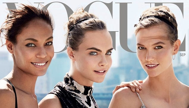 Vogue Confirms the September Cover Is Models, Models, Models