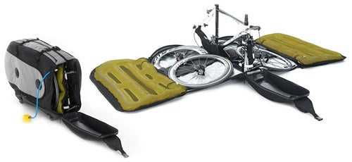Inflatable Bike Case Protects Your Wheels When Traveling