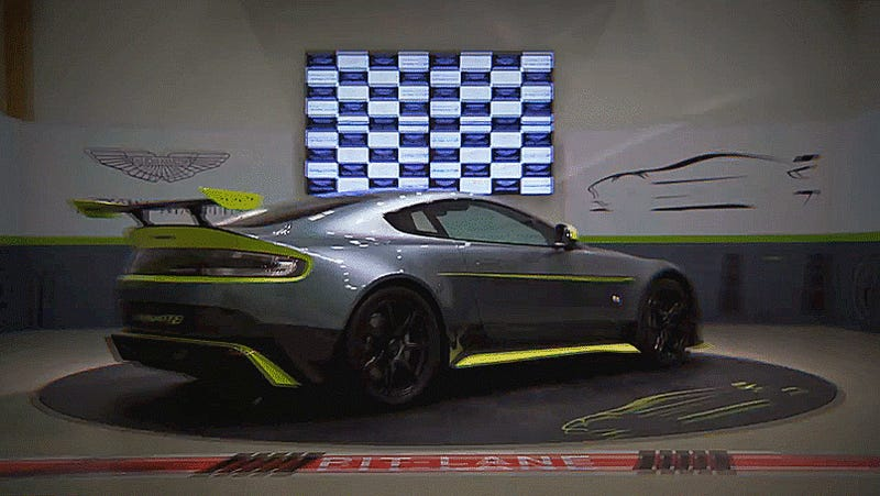 Aston Martin Made The World's Most Perfect Vantage And We Won't Get It