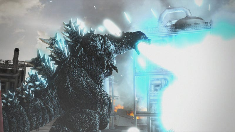 Hell Yes, I Want to Destroy Cities as Godzilla