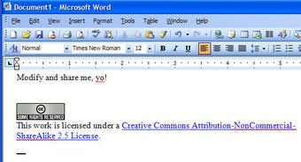Download of the Day: Microsoft Office Creative Commons Add-in