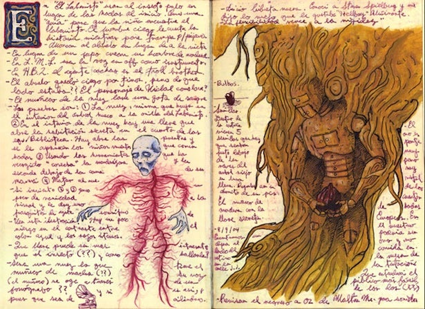Guillermo del Toro's sketches reveal his At the Mountains of Madness