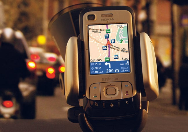 Nokia Rolls Out 6110 Navigator in Barcelona: GPS Cellphone