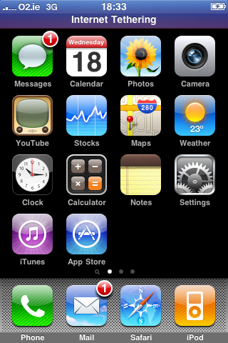 iPhone 3G Tethering Now Working for Someone, Somewhere