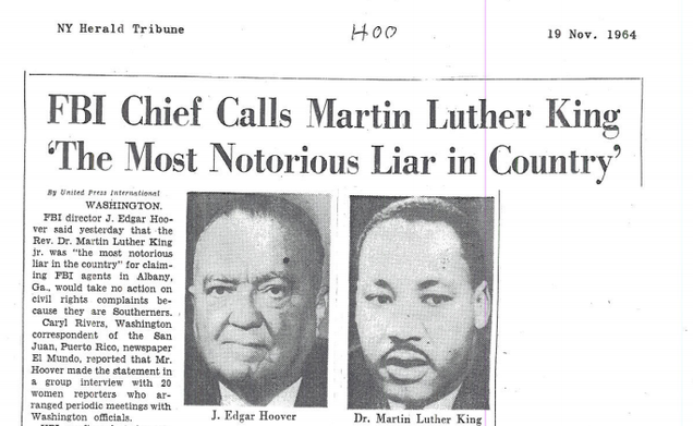 The Uncensored FBI Letter to MLK Found Hidden in the National Archives