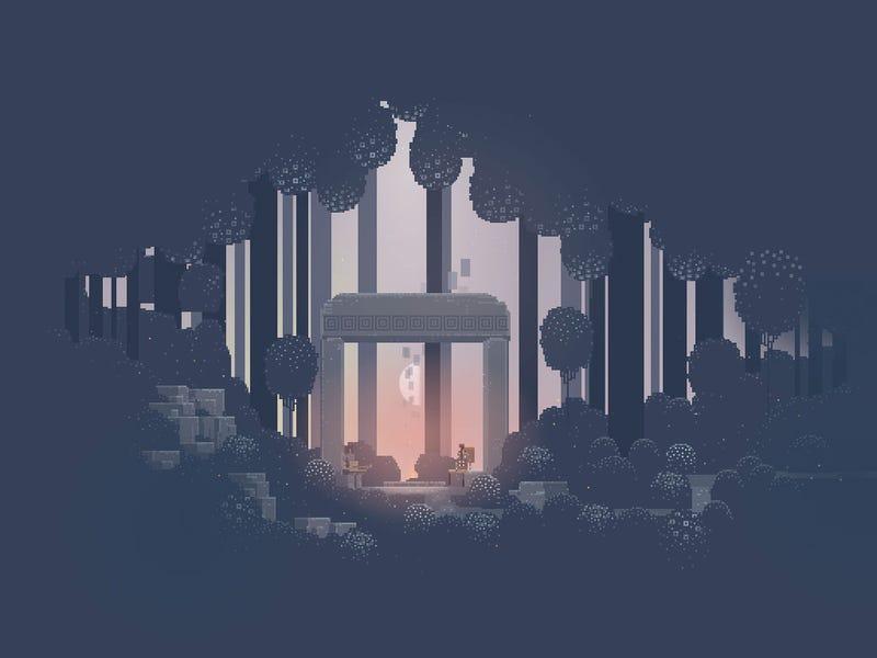 Sword & Sworcery EP Looks Gworgeous On An iPad