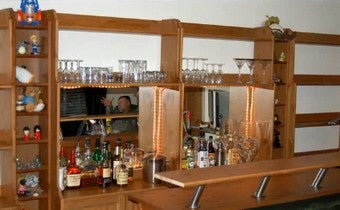 Turn an Old Dresser into a Home Bar