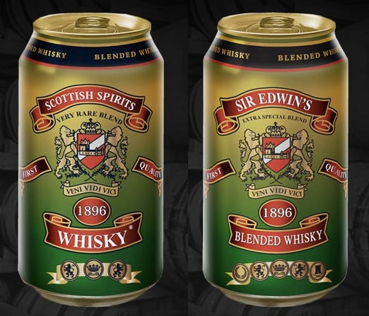 Whisky in a Can Is the Best Thing in a Can