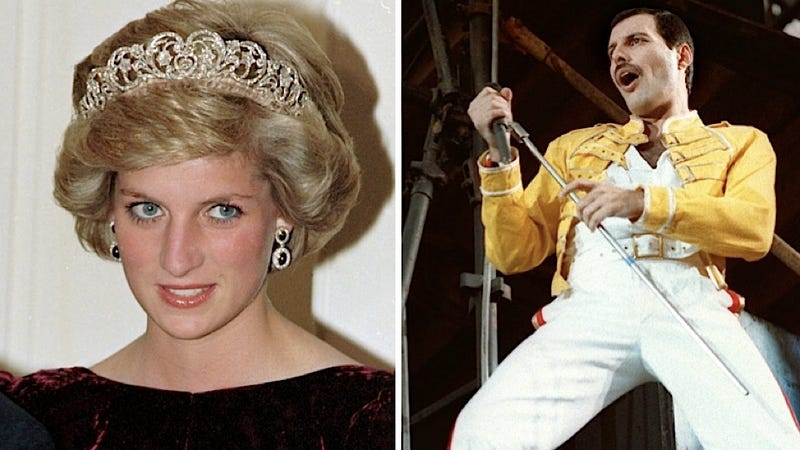 Freddie Mercury Once Disguised Princess Diana as a Dude and Snuck Her Into a Gay Bar for the 80iest Night on Record