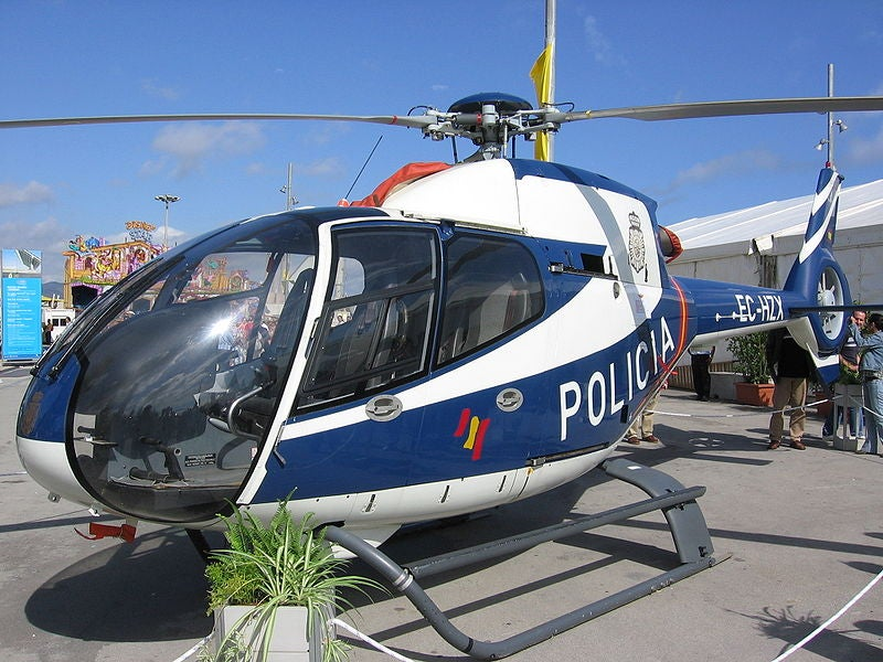 Cop Uses Police Helicopter To Run Errand