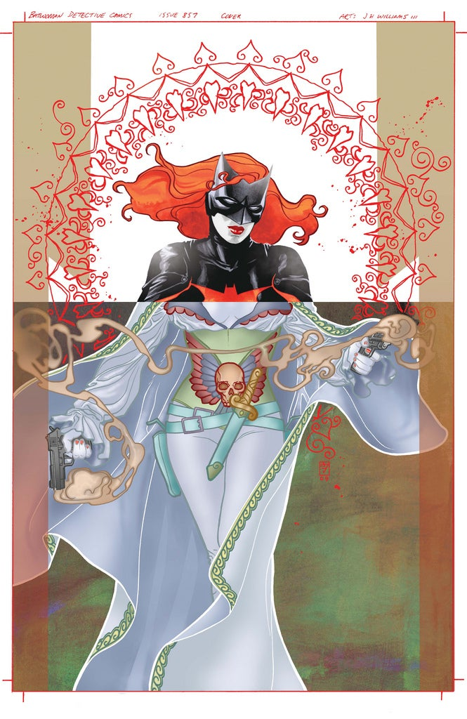 Batwoman's Solo Debut Is Art Nouveau Gone Pop