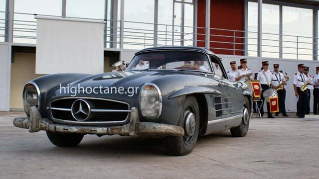 Greek town auctions barn-found Mercedes for $560,000