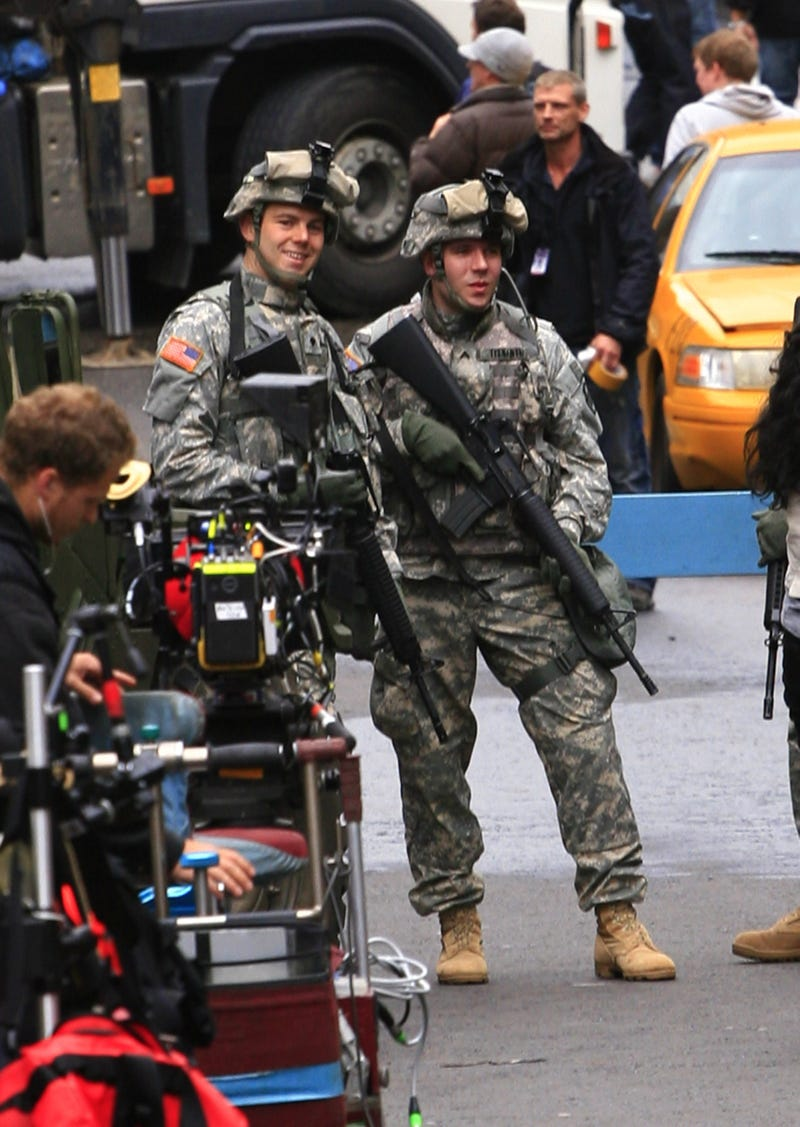 World War Z set pics from WENN.com