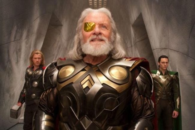 Anthony Hopkins reveals the dreadful weight of playing a god in Thor