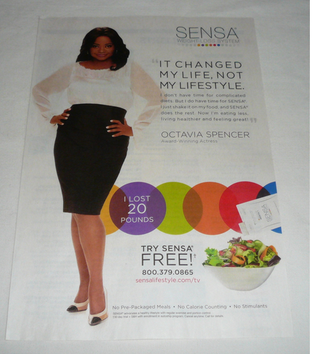 Octavia Spencer Sues Weight Loss Company for Acting Super Shady