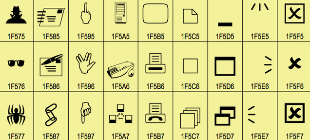 Here's What All Those New Emoji Actually Look Like