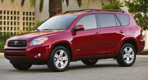 Rental Car Reacharound: Toyota RAV4