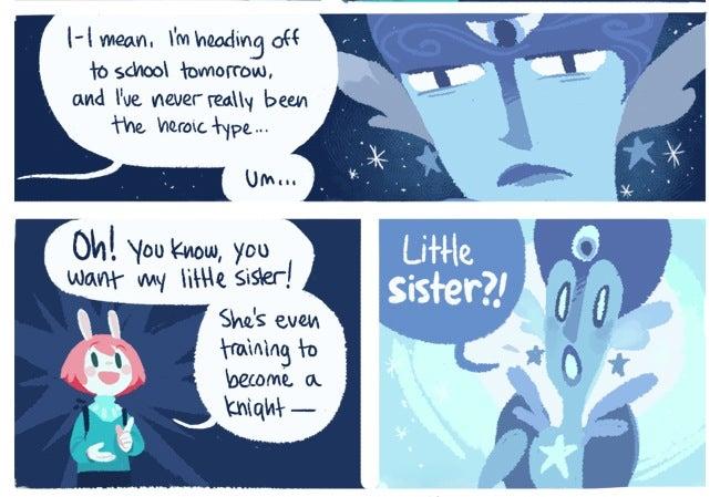 "In ""Cucumber Quest,"" a funny thing happens on the way to Hogwarts"