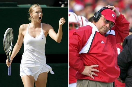 Sad Stalking Case Of Former Badger Provides Excuse To Run Maria Sharapova Photo
