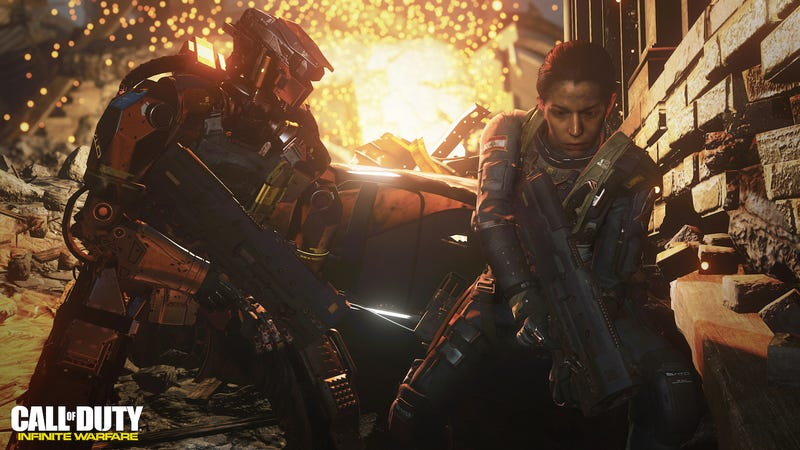 After A Fan Revolt,Call Of Duty: Infinite Warfare's Creators AreTrying To Win People Over At E3