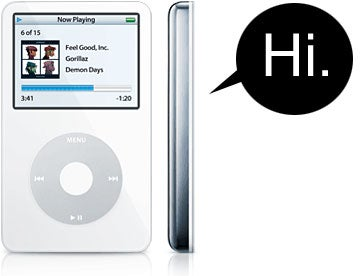 Speculation: Talking iPod Forthcoming?