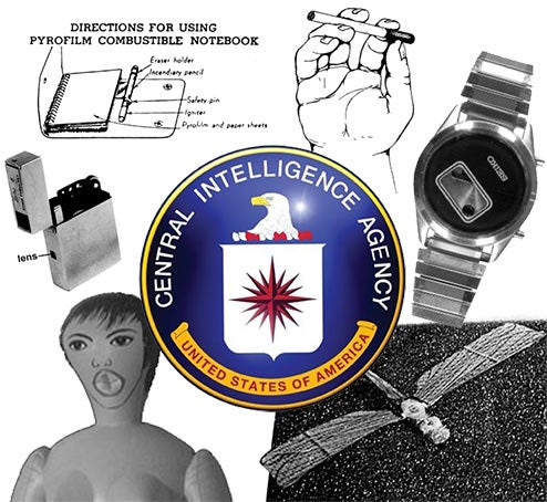 CIA Spy Gadgets Revealed: Q Ain't Got Nothin' On Langley