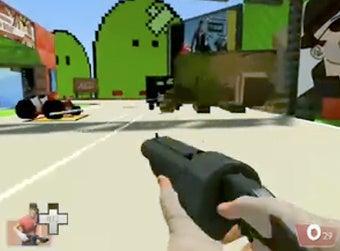 Team Fortress Brings Mayhem to Mario Kart Track