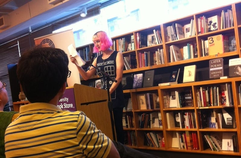 A Brief Encounter with Charlie Jane Anders
