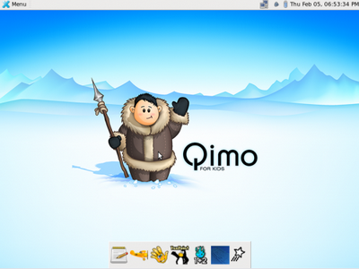 Set Up a Computer for Kids with Qimo