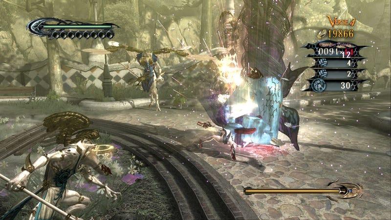 Bayonetta Foreplay At E3: Megatons & Gigatons